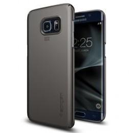 Spigen Galaxy S7 Edge Case Thin Fit Black 556CS20029