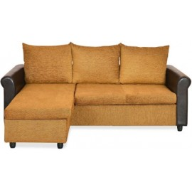 Nilkamal Coral Fabric 3 Seater Sectional